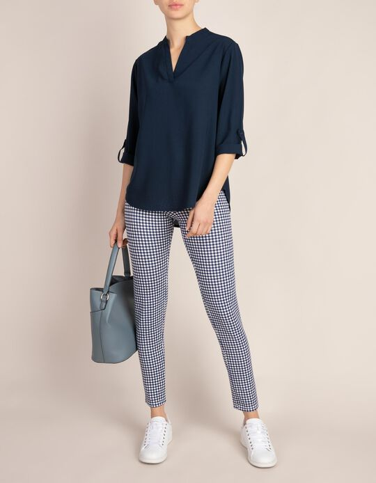 Blouse with Tabs