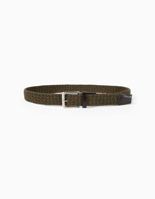 Two-Tone Braided Belt