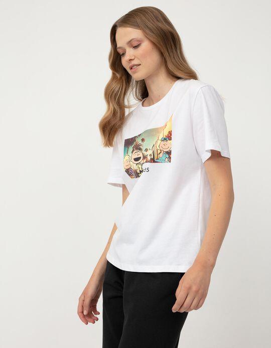 Peanuts' T-shirt for Women, White