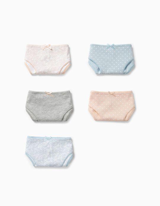 Pack sortido de 5 cuecas Panties