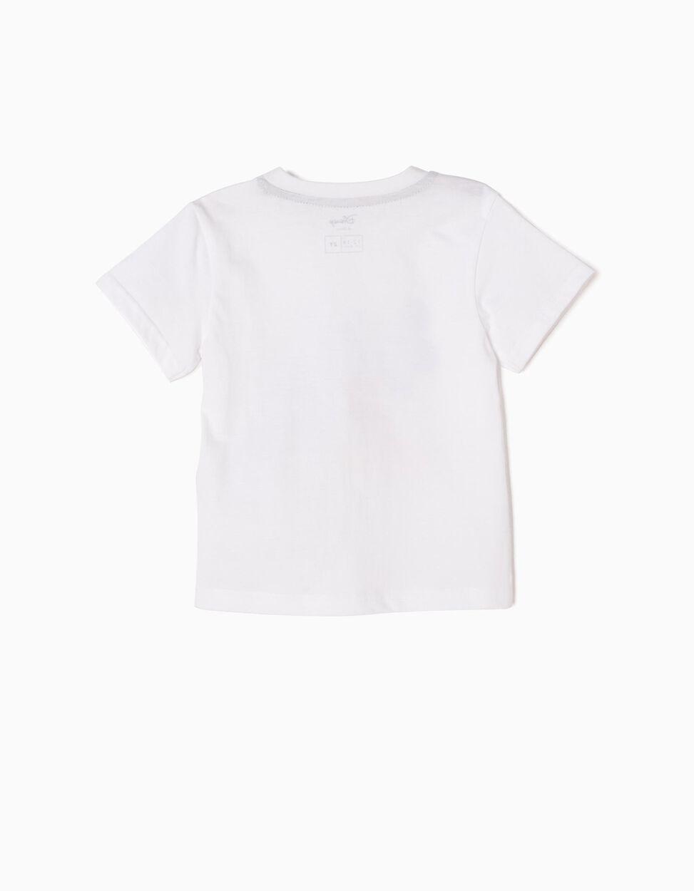 T-shirt Mickey New York Branca