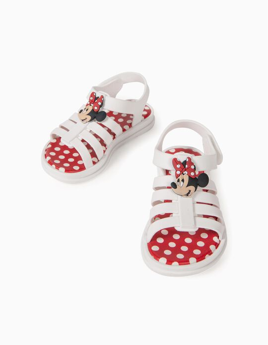 Sandals for Baby Girls, 'Minnie Mouse ZY Delicious', White