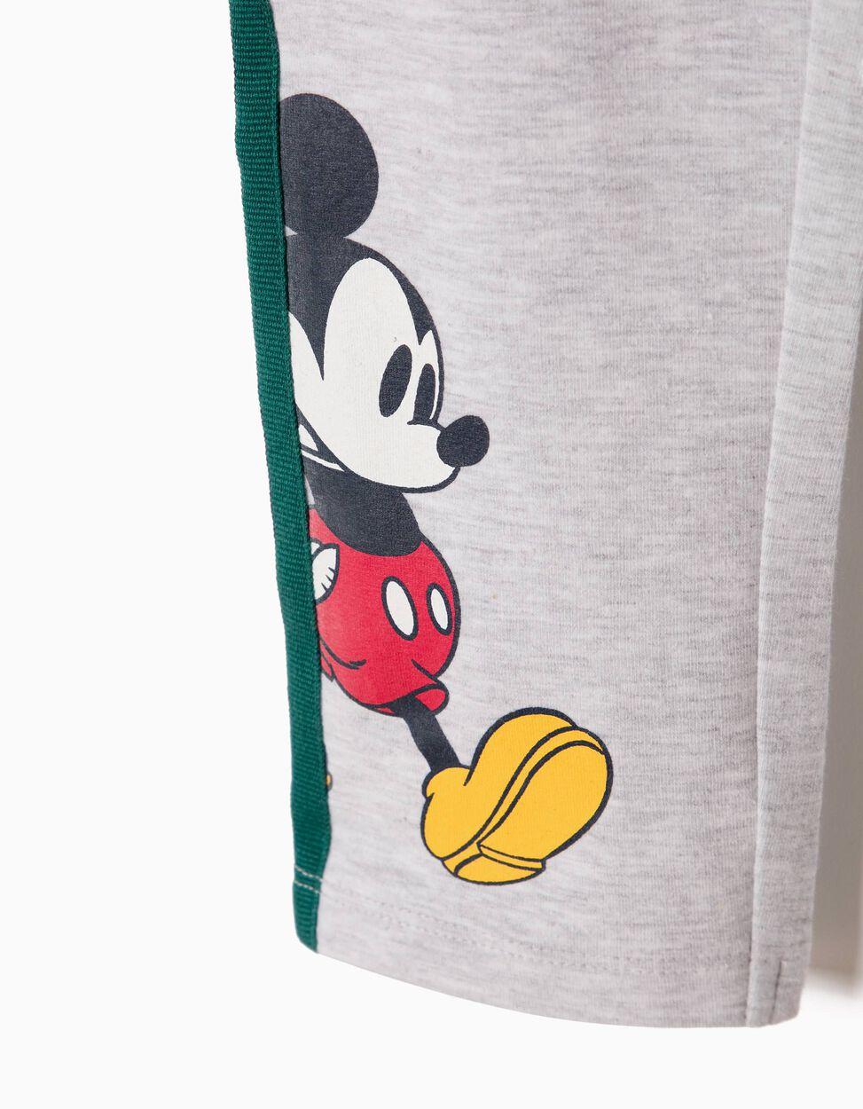 Leggings Mickey & Minnie Cinzentas