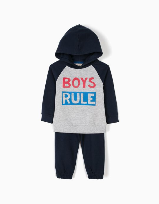 Two-tone tracksuit, Boys Rule
