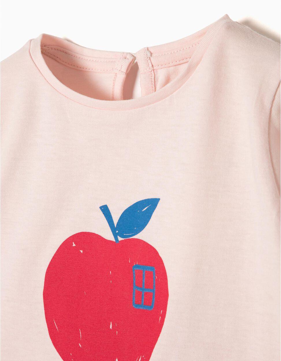 T-shirt Manga Comprida Apple Love
