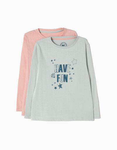 Pack 2 T-Shirt Have Fun