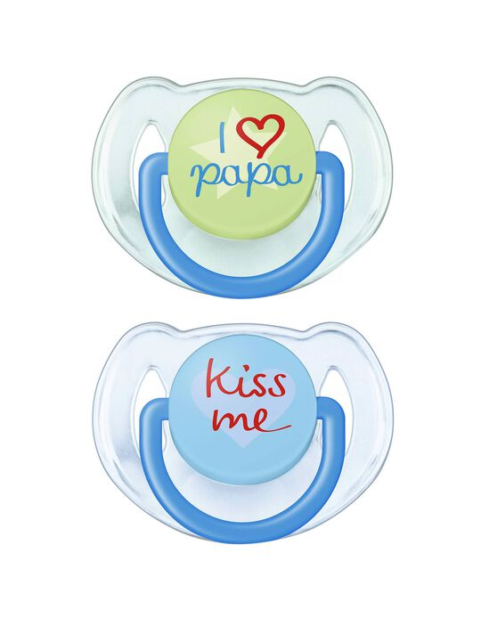Chupeta Silicone Phrases 6-18M Philips Avent