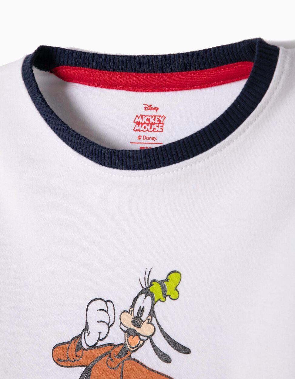 Pijama Manga Comprida e Calças Mickey & Friends