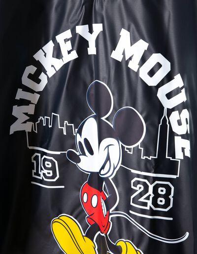 Capa Impermeável Azul Mickey