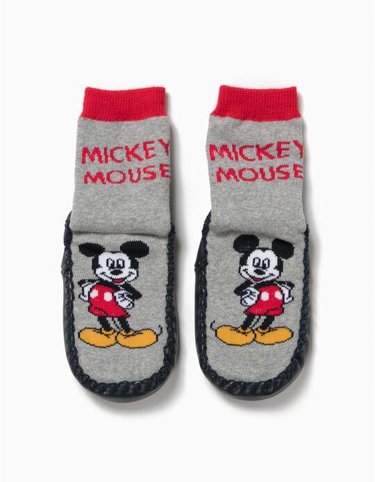 Meias Pantufas Mickey