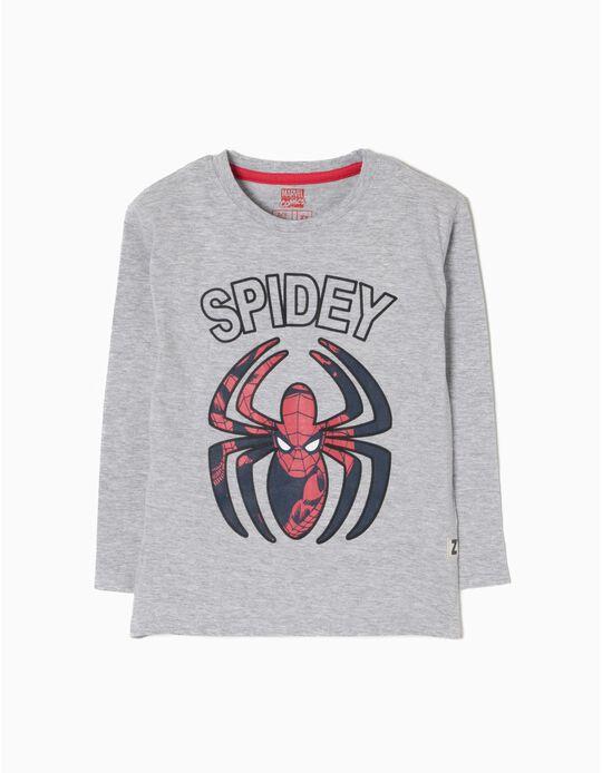 T-shirt Manga Comprida Spider Man