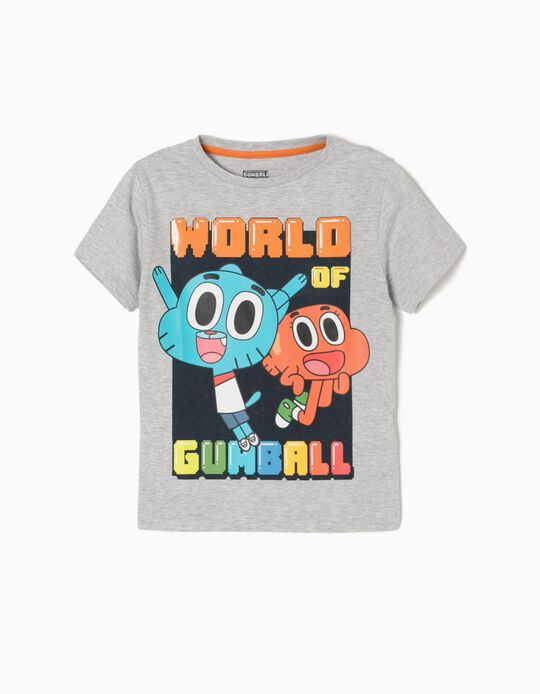 Grey T-Shirt, Gumball
