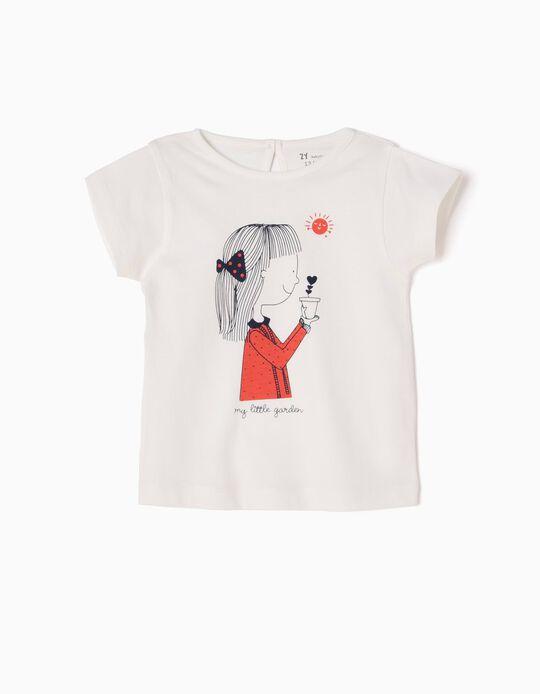 T-shirt Estampada My Little Garden