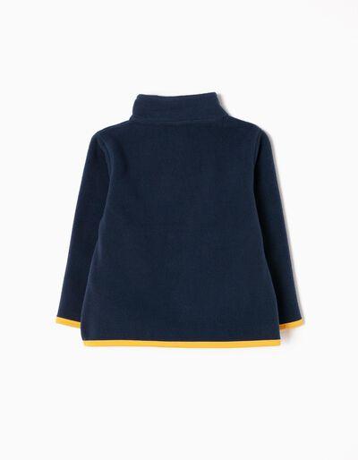 Camisola Polar Azul