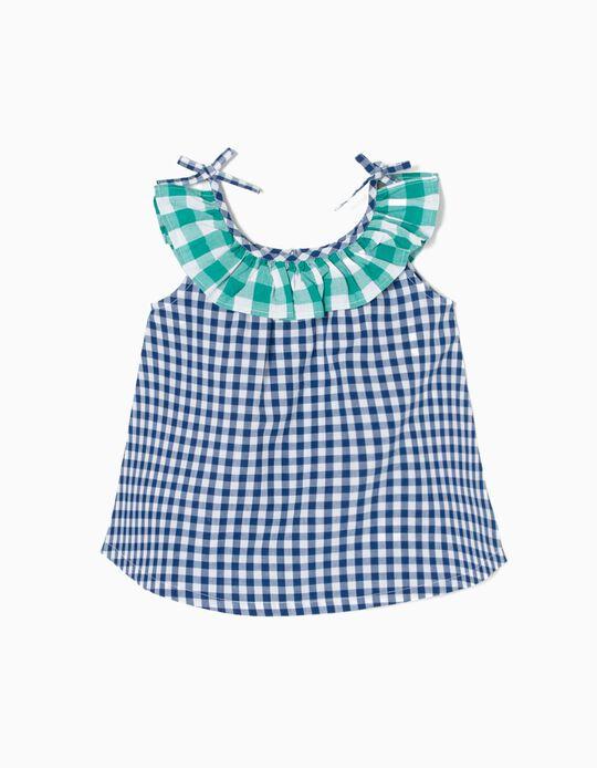 Blusa Quadrados Vichy B&S