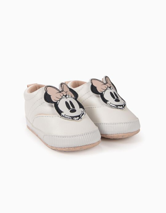 Sapatilhas para Recém-Nascida 'Minnie', Branco