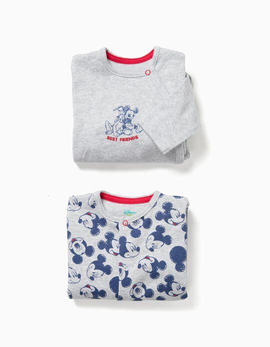 Conjunto Babygrow Mickey