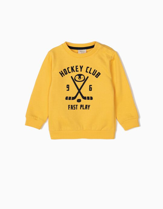 Sweatshirt Hockey Club Amarela