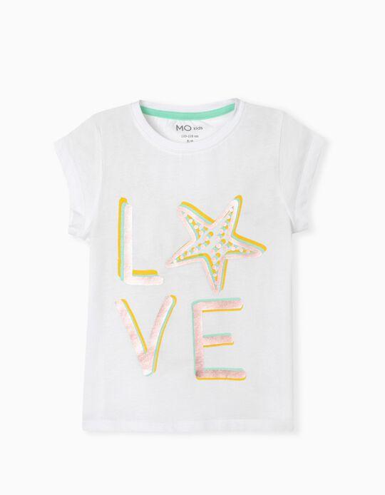 T-shirt for Girls, 'Love'