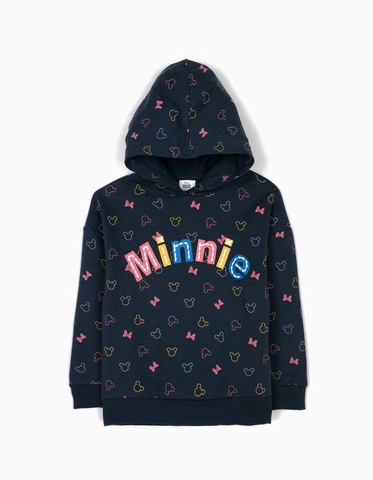 Sweatshirt com Capuz Minnie