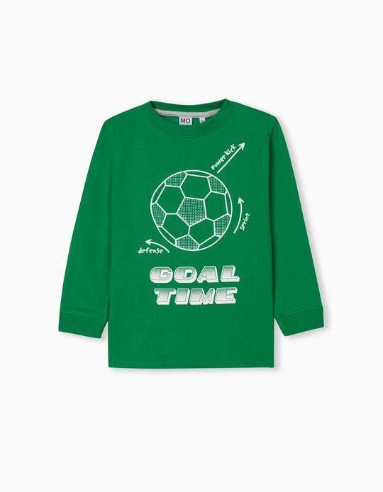Sweatshirt for Children, Green