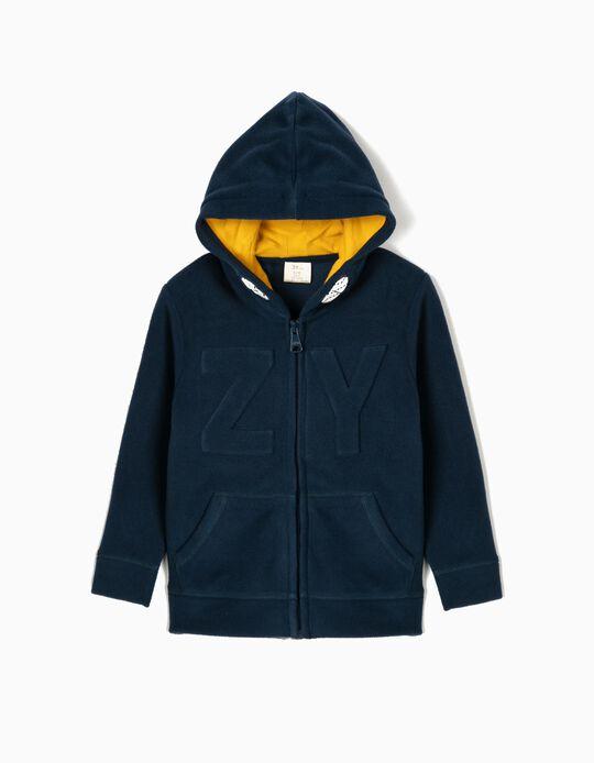 Polar Fleece Jacket for Boys 'ZY', Blue