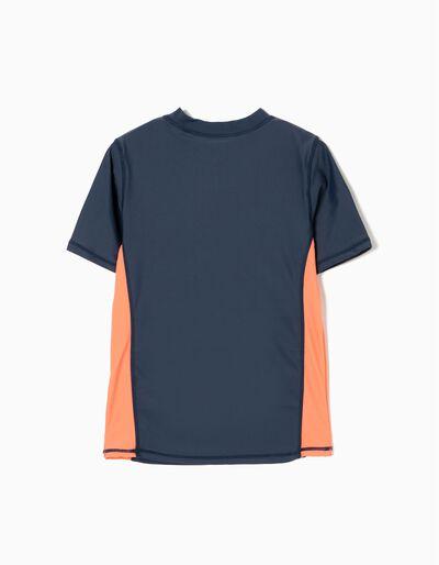 T-shirt de Banho Ondas Anti-UV 60