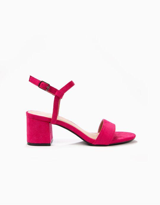Sandálias em camurcina