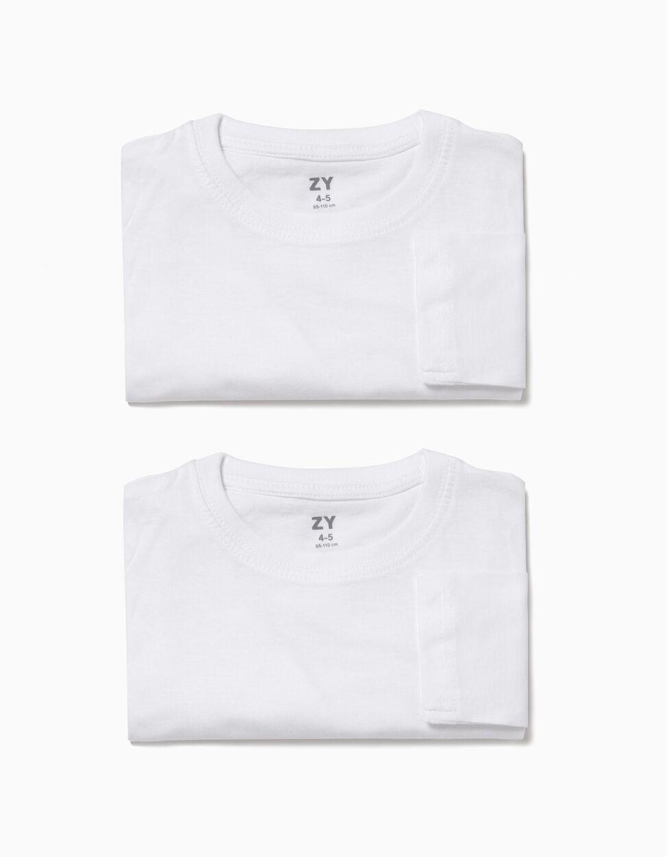 Pack 2 Camisolas Interiores Brancas