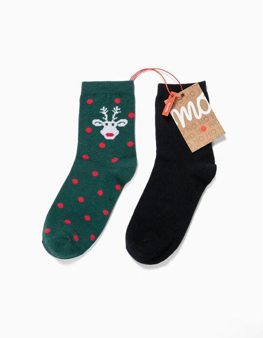 Christmas Socks, pack of 2