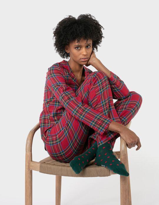 Conjunto pijama natalício