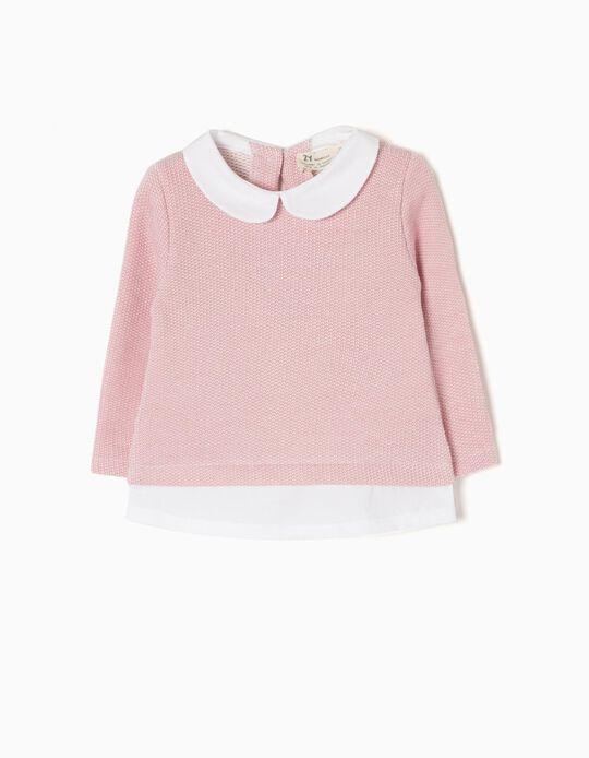 Combined Pink Sweatshirt