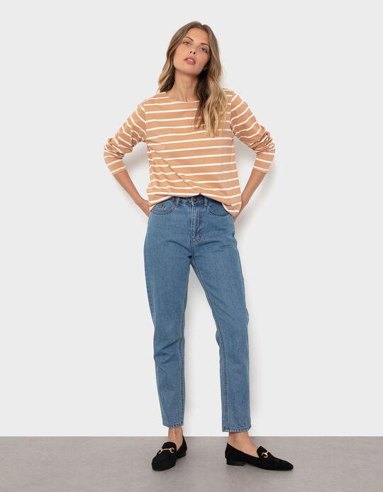 Striped Long Sleeve Top, Women