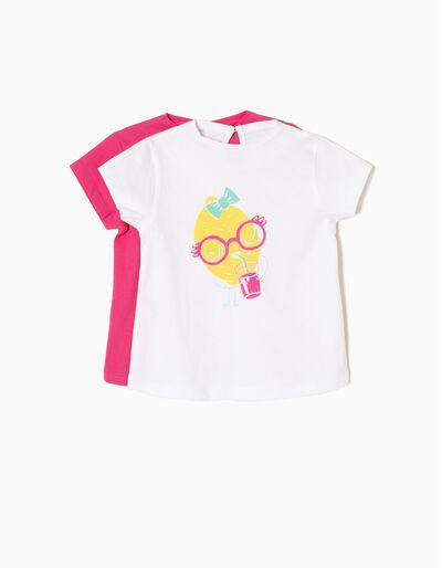 Pack 2 T-shirts Lemon