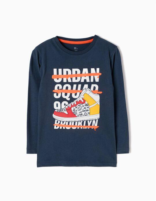 T-shirt Manga Comprida Urban Squad 96