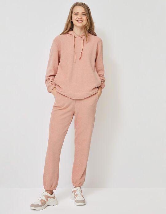 Textured Sweatshirt for Women