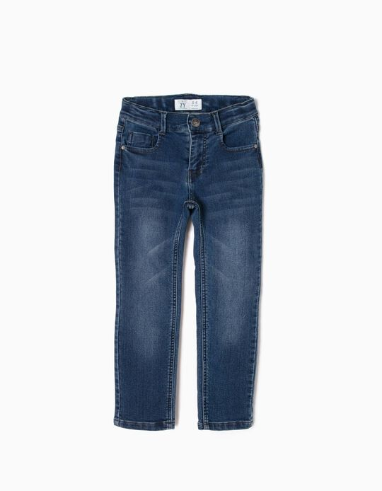 Denim Jeans for Boys 'Slim Fit', Dark Blue