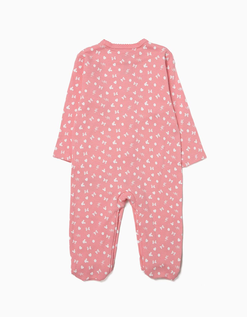 Pack 2 Babygrows Manga Comprida Minnie