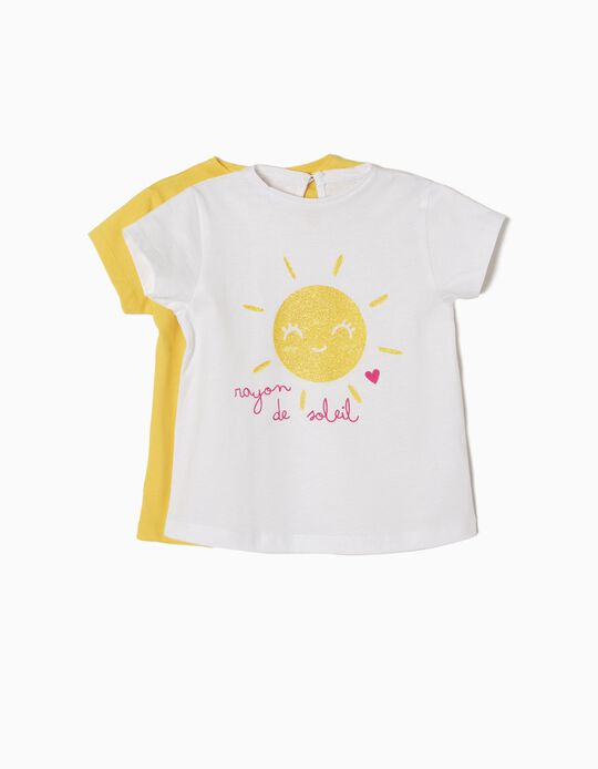Pack 2 T-shirts Soleil
