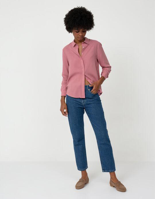 Mum Fit Jeans, Women, Dark Blue