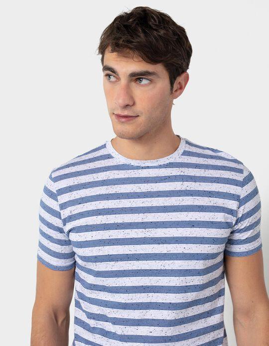 Striped T-shirt, for Men
