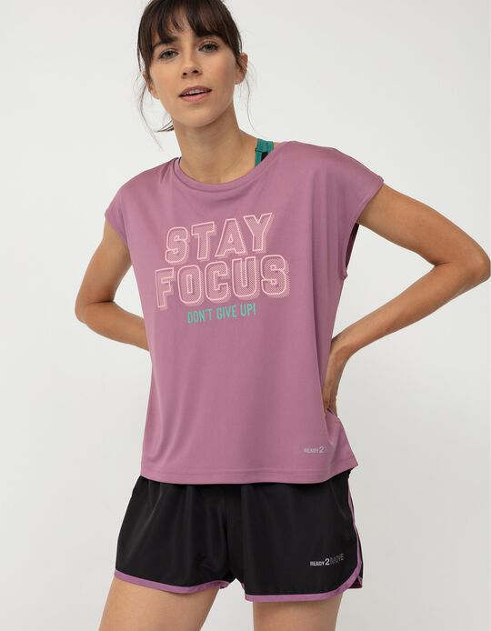 Sleeveless Sports Top for Women, Pink
