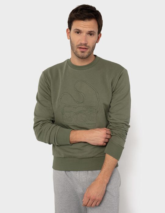 Sweatshirt, 'Safari Club', for Men
