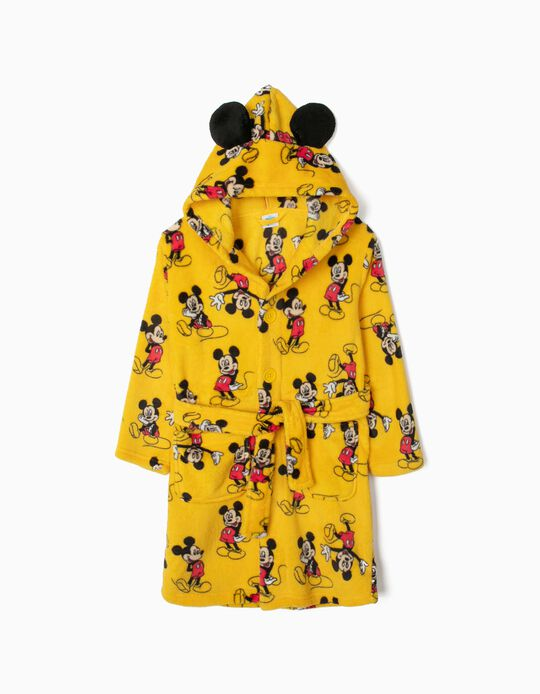 Robe for Boys 'Mickey', Yellow