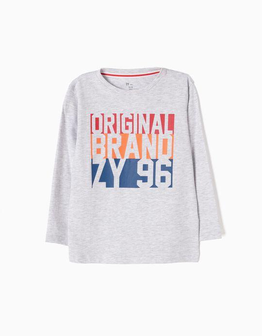 T-shirt Manga Comprida ZY 96 Original Brand