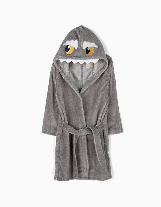 Roupão Little Monster Cinzento