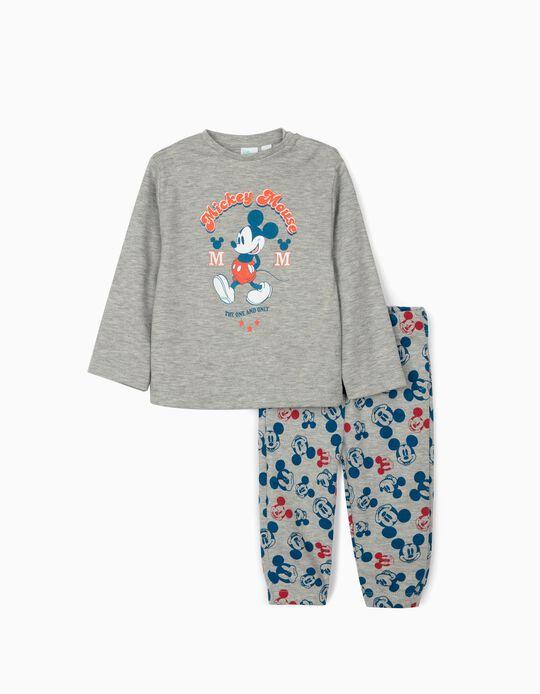 Pyjamas for Baby Boys, 'Disney Mouse', Grey