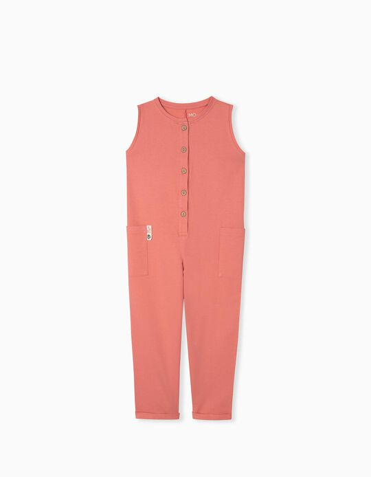 Organic Cotton Jumpsuit, Girls