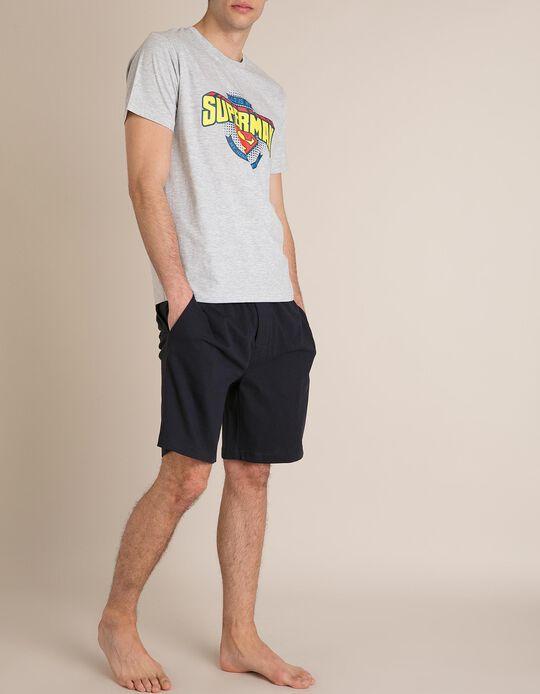 Pijama Superman Especial Dia do Pai b7a14d4e975
