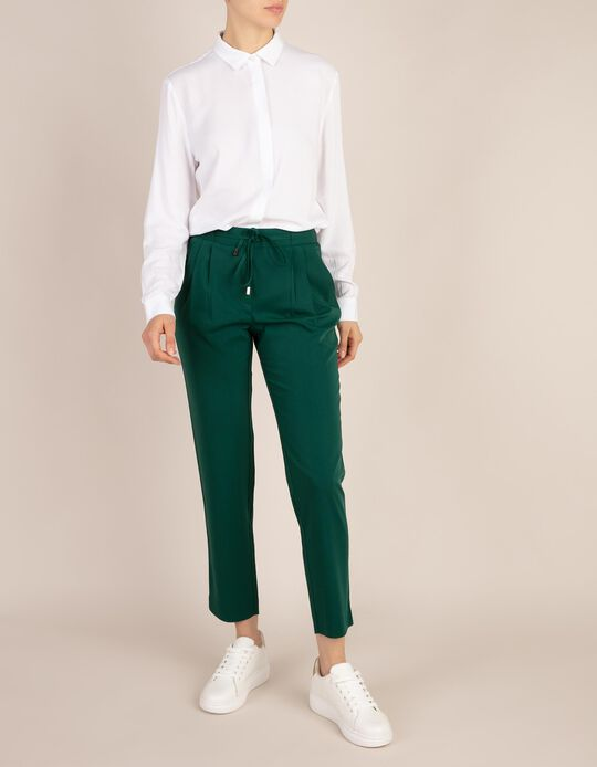 Trousers with Drawcord